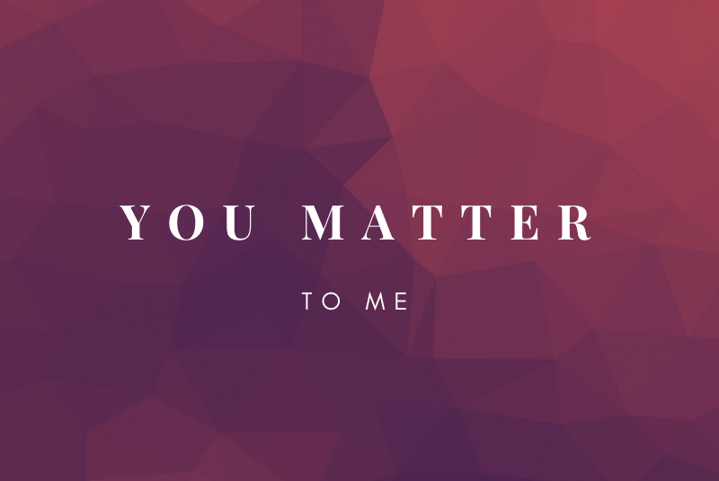 You Matter - The Power of Thanks